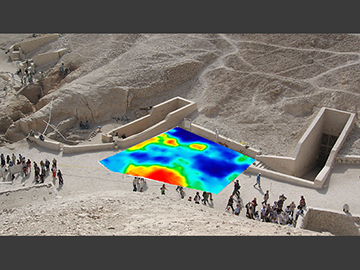 Valley of the Kings GPR image
