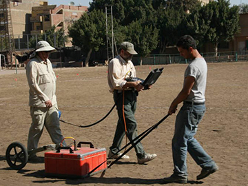 GPR at the Giza Soccer Field